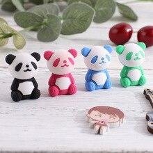 Rubber Kawaii Panda-Eraser Stationery Correction-Supplies Animal Drawing-Design Office
