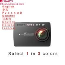 Xiaomi Yi 4 k Спортивная Экшн-камера мини камера Открытый Kamera экран Wifi Bluetooth широкоугольный объектив сенсорный экран Camaras TF Slo