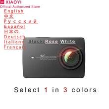 Xiaomi Yi 4k Action Camera Sport Mini Cam Outdoor Kamera Screen Wifi Bluetooth W