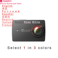 Xiaomi Yi 4k Action Camera Sport Mini Cam Outdoor Kamera Screen Wifi Bluetooth Wide Angle Lens Touch Screen Camaras TF Slo