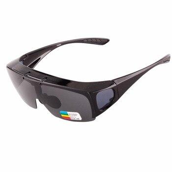 FREE SHIPPING Modern UNISEX flip-up sunglasses Polarized Glasses Fit Over Prescription Glasses UV400 Lens Covers Glasses