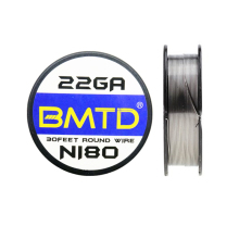 BMTD  10m/roll Ni80 Heating Wire Huge Vape Electronic Cigarette Wire for RDA RTA Atomizer Tank DIY Prebuilt Coil Nichrome Wires volcanee 100pcs ni80 prebuilt heating coil vape 20 22 24 26 28 30ga premade coil wire for e cigarette rda rba atomizer