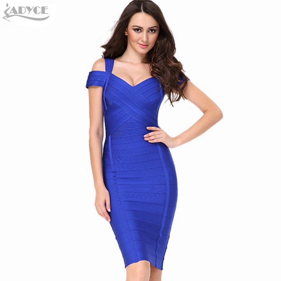 ADYCE 2018 New Summer Runway Dress Women Elegant Sexy Short Sleeve Celebrity Evening Party Prom Bodycon