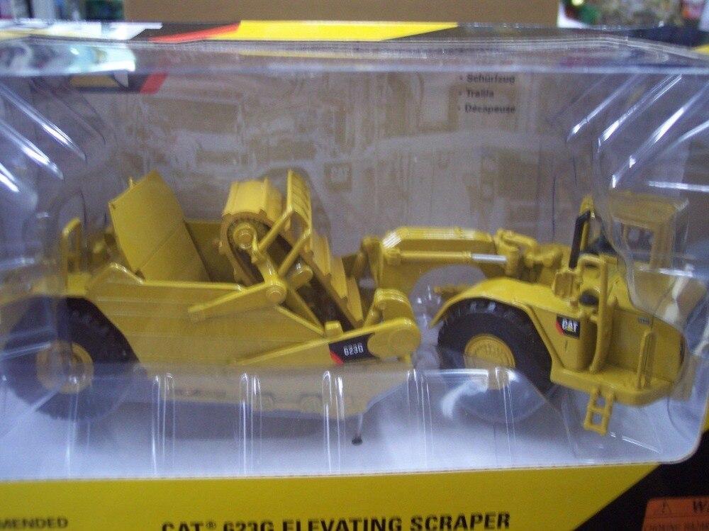 Norscot 1:50 Caterpillar CAT 623G machines d'ingénierie grattoir élévateur moulé sous pression jouet modèle 55097 pour Collection, décoration - 3
