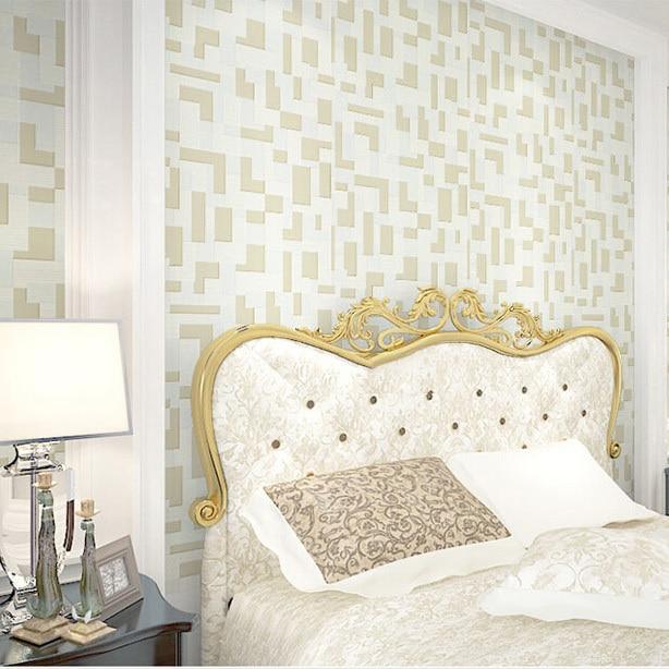 super 3d effect mosaic designs flocking 3d wallpaper for  bedroom wall papel de parede 3d moderno