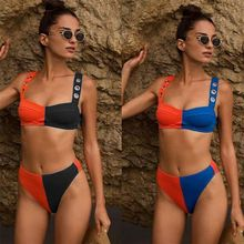 Phaixoneible New 2019 Swimwear Push Up Bikini Women Swimsuit Patchwork Bathing Suit Female Beachwear Lady Halter стоимость