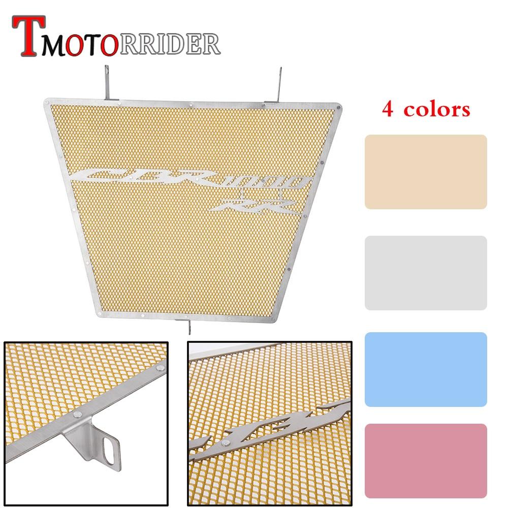 Moto Steel Radiator Guard Grill Cover Oil Cooler Bezel Protector Grille for 2012 2015 Honda CBR1000RR