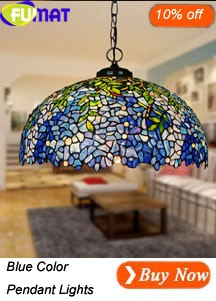 Blue Color Pendant Lights