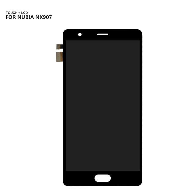 Free Shiping For ZTE Nubia M2 Play NX907 NX907J Touchscreen LCDs Touch Screen Digitizer Glass LCD Display Assembly + Tools