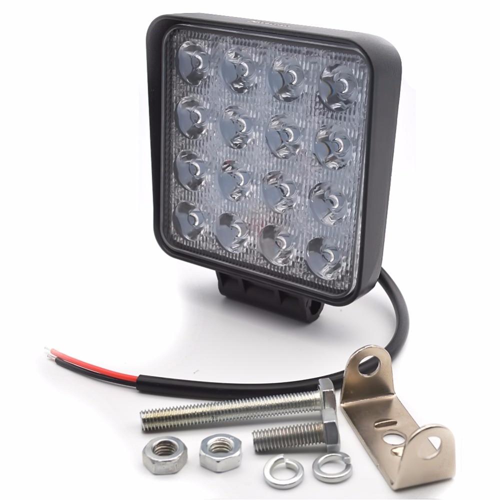 Safego 2X 4 Inch 48W LED işiq işıq lampası Göstəricilər Qayıq - Avtomobil işıqları - Fotoqrafiya 4