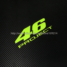 MotoGP The Doctor  Valentino Rossi VR46 PROJECT Helmet  Motorcycle Auto Decal Reflective Sticker Waterproof  07