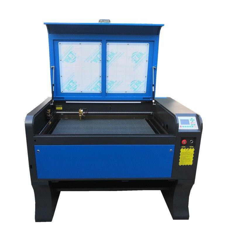 Free Shipping 100W Ruida 6090 CO2 Laser Engraving Machine  Cutting Machine DSP System Engraver Machine
