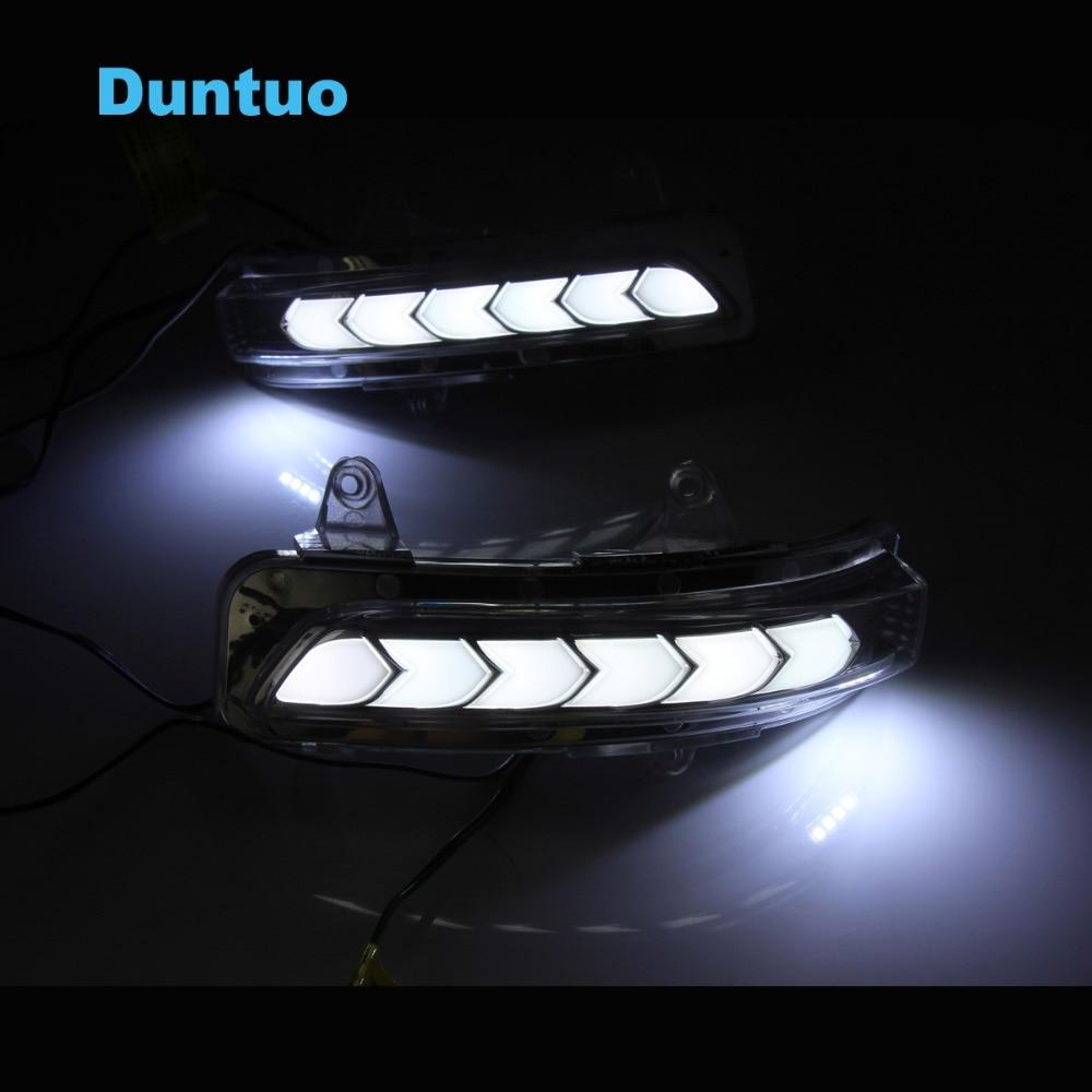 Flowing Turn Signal Lamp Rearview Mirror Running Light For Toyota Prado Land Cruiser 2012 2018|Signal Lamp| |  - title=