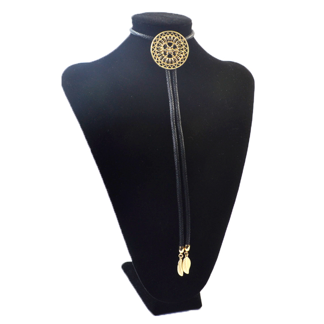 New Arrival Compass Alloy Bolo Tie for Men Women Fashion Jewelry Wholesale Casual Party Accessories CM-N15048