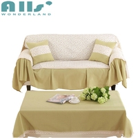 Light Green Yellow Flower Slipcovers For Armchairs Sofa Living Room Covers For Couches I L Shaped