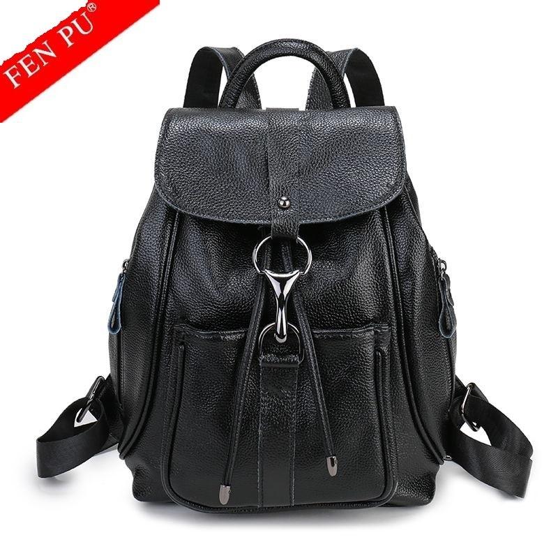 Women Backpack Genuine Leather Bags Famous Brand Small Backpacks For Teenage Girls Real Leather Fashion Backpacks Female Mochila 4 5mm security disassemble open screwdriver for nintendo snes n64 nes sega nomad rasp dremel 2016
