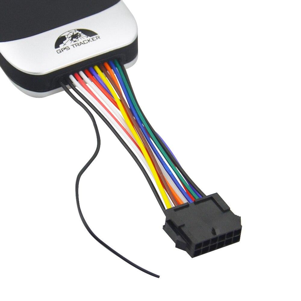 Guaranteed 100% 4 band car GPS tracker GT02A Google link real time
