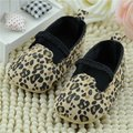 Детская обувь обувь для девочек мягкой подошвой ребенка малыша обувь первые ходоки моды leopard prewalkers slip on baby girl обувь