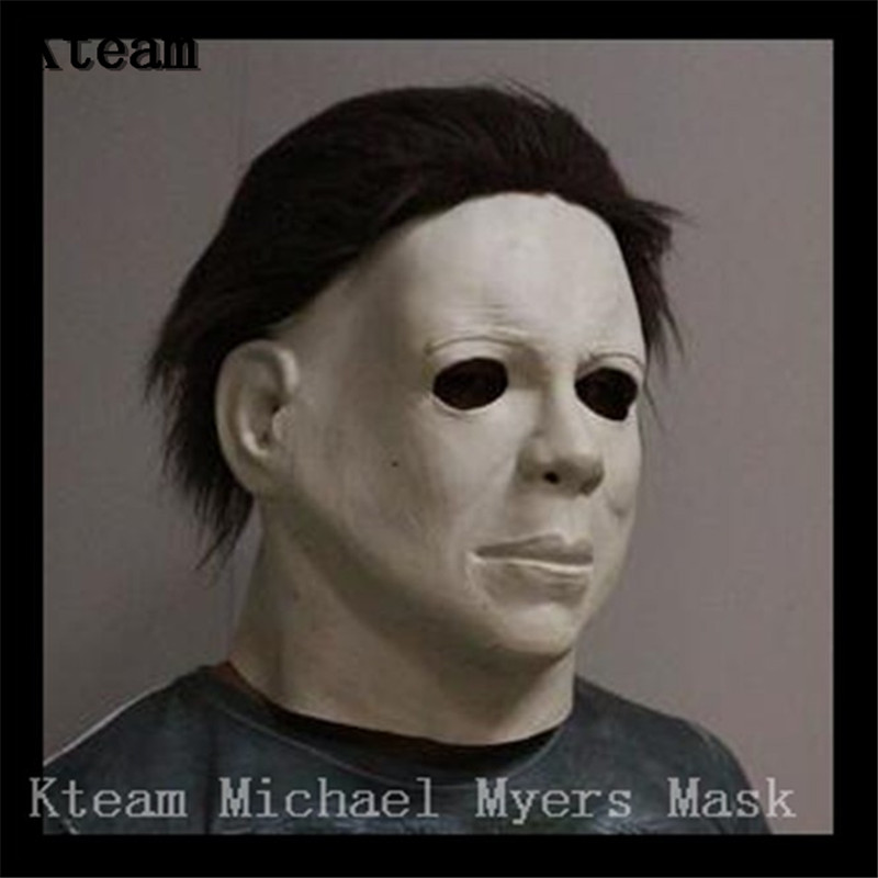 2018 Hot Movie Cos Mask Horror Michael Myers Mask Scary Movie Halloween Cosplay Adult Latex Party Face Mask Scary Film Mask Toy