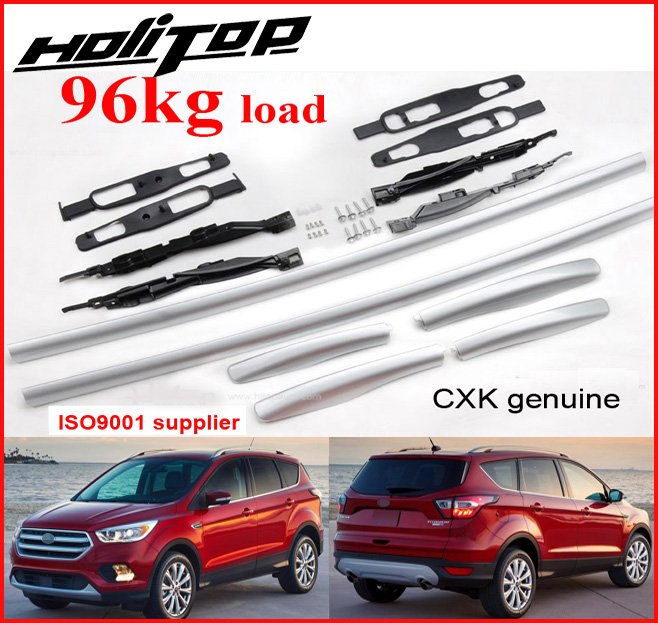New arrival for Ford Escape Kuga roof rack roof bar roof rail 2017 2018 CXK geunine