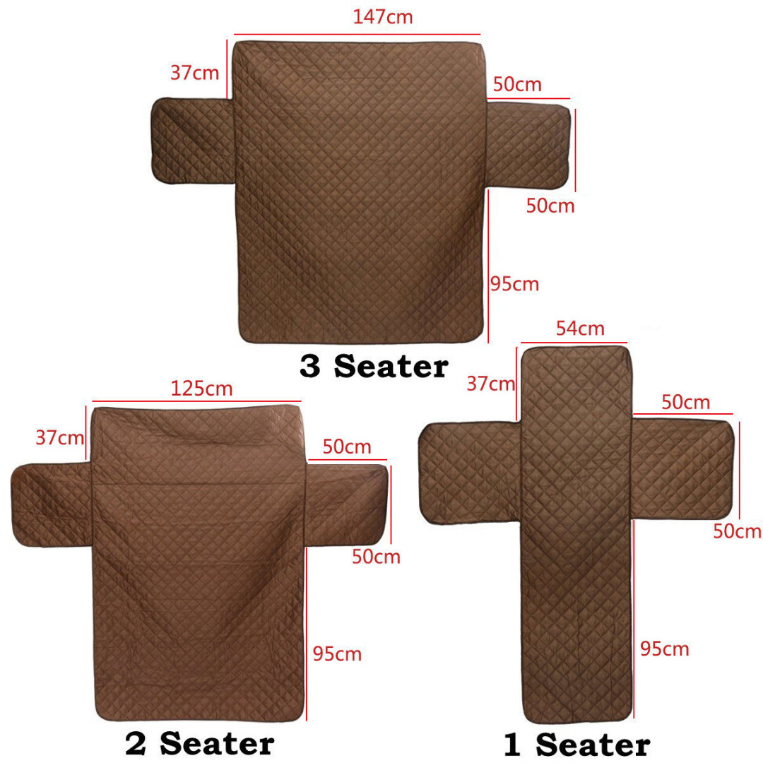 waterproof pet protector sofa cover room and board table brown dog kids