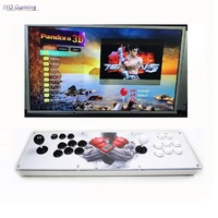 Box 10 3D Pandora Key Arcade Console with PCB Board 2 Player Home Use Controller 2263 Games Retro Video Game Machine