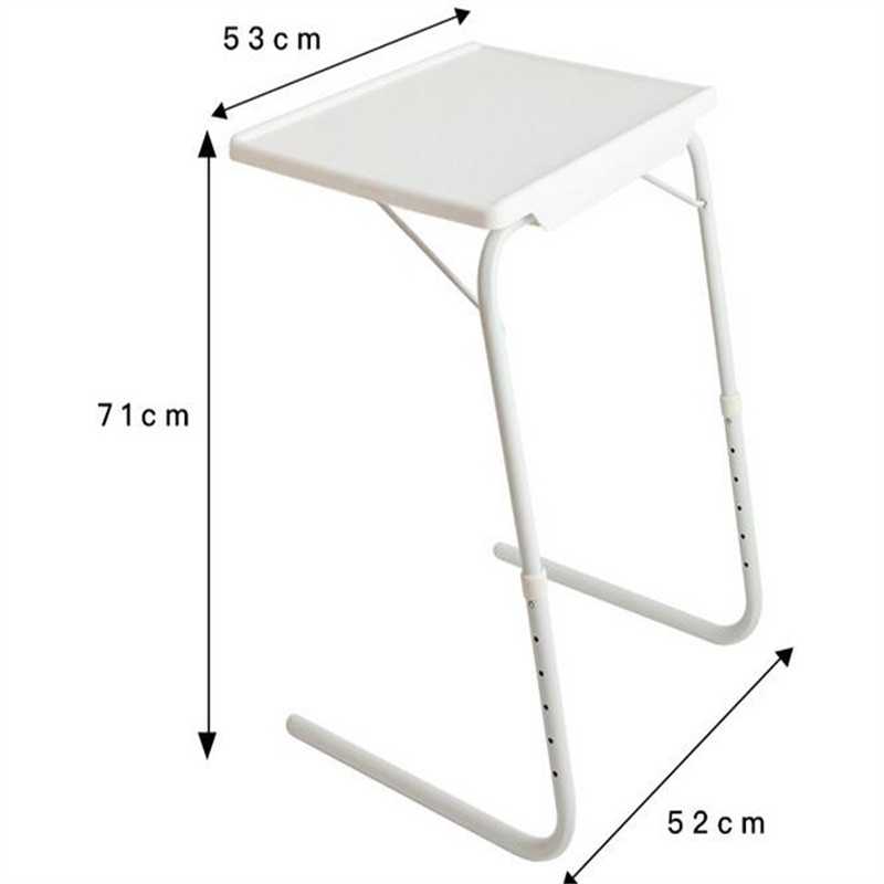 Wholesale 52*40*71cm Height Adjustable Laptop Desk Notebook PC Desk Side Table