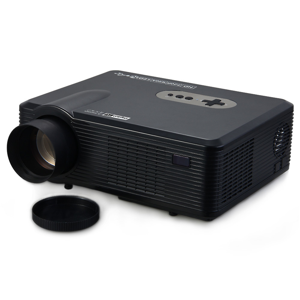 Original White CL720D LED Projector 3000 Lumens 1280 800 HD LCD Projector Digital TV Interface For