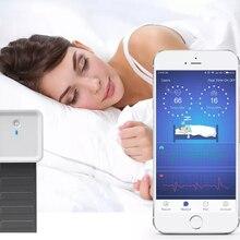 Умный Bluetooth монитор сна ЭКГ пульсометр респираторный мониторинг нагрудный ремень датчик давления с приложением трекер качества сна