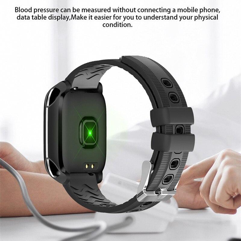 Image 3 - Смарт часы ONEVAN монитор кровяного давления пульса фитнес Браслет Водонепроницаемый браслет трекер физической активности, браслет для Ios Android-in Смарт-браслеты from Бытовая электроника on AliExpress - 11.11_Double 11_Singles' Day