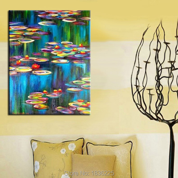 100%Hand painting canvas abstract paintings hot sale canvas oil ...