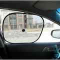 2016 New 2PCS Twin Black Car Side/Rear Window Sun Shade Sunshades Protection Cover Nylon Mesh Visor Car Interior Accessories