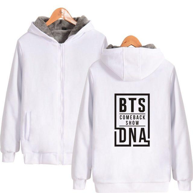 New BTS Love Yourself Winter Jacket