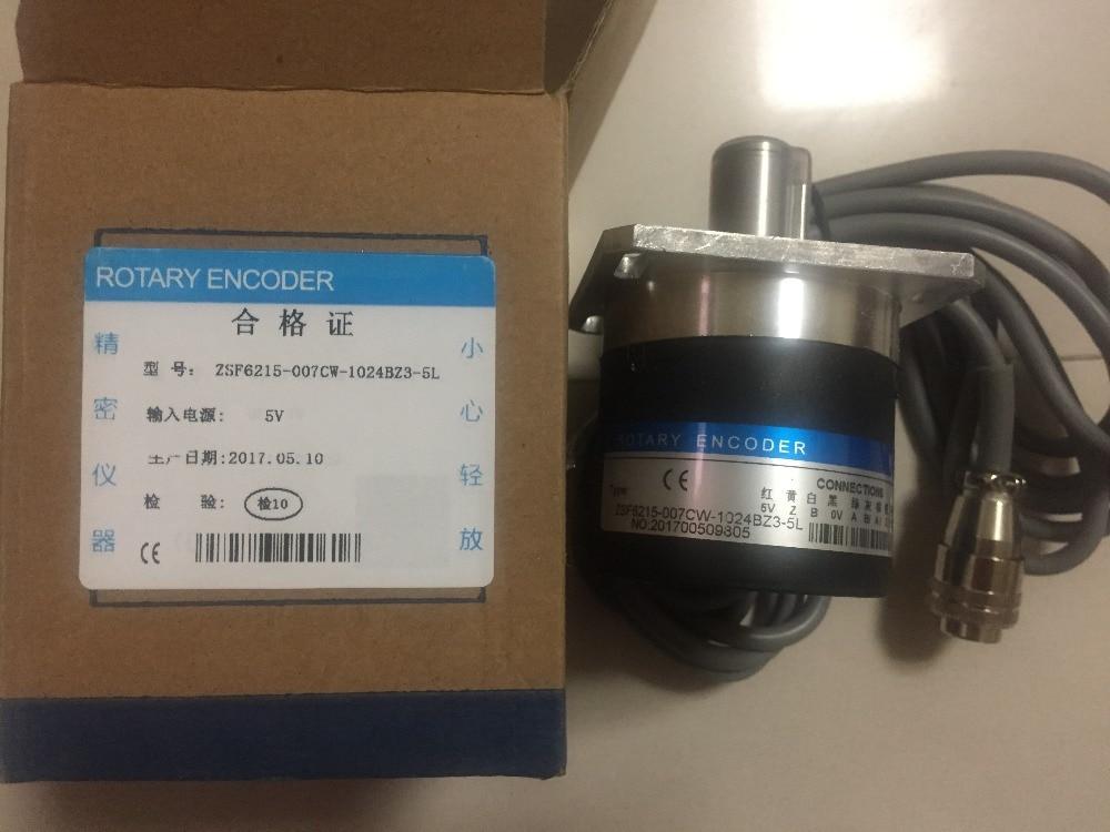 ZSF6215-007CW-1024BZ3-5L Hyde CNC lathes 1024 line rotary encoder cnc lathe machine tool spindle encoder osba066015 cy 1024bm 5l 1024 pulses zsf5815 machine tools line driver output