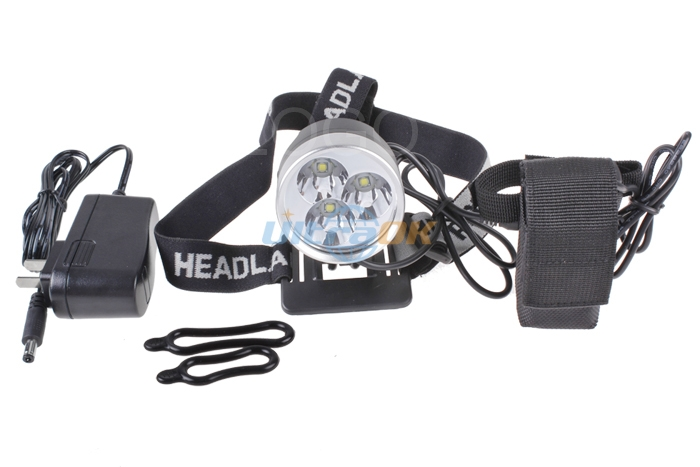 New 6000 Lumens 3x CREE XM-L T6 LED Bike Bicycle Light Headlamp Head Torch 950lm 3 mode white bicycle headlamp w cree xm l t6 black silver 2 x 18650
