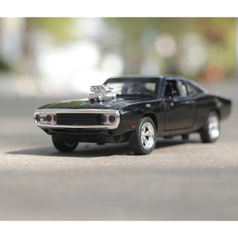 Fast & Furious 7 Dominic\'s Dodge Charger 1970 Pull Back Toys Cars ...