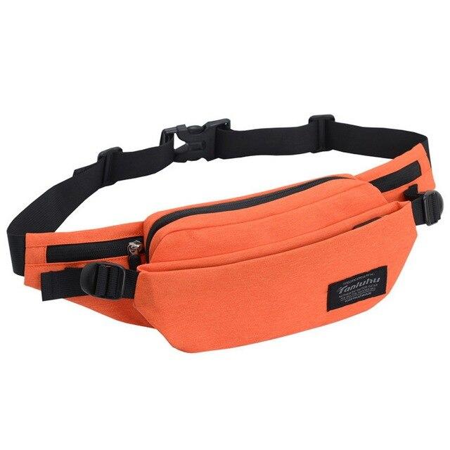 NIBESSER Multi-pockets Leisure Belt Bag Business Waist Packs Anti-theft Portable Men Waist Bag Women Fanny Pack Bum bag heuptas