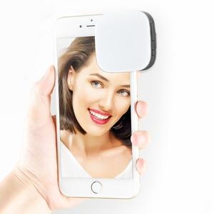 Image 4 - GODOX LEDM32 Video Işığı Cep Telefonu Lityum Pil Aydınlatma LED Ayarlanabilir Parlaklık Fotoğrafçılık Telefonları