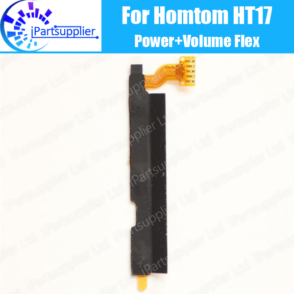 HOMTOM HT17 Side Button Flex Cable 100% Original Power + Volume button Flex Cable repair parts Repalcement for HOMTOM HT17