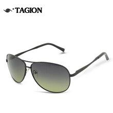 TAGION gafas de Sol Polarizadas de Los Hombres Gafas de Sol Gafas de Sol Polarización Puntos Shades Hombres UV Protección Gafas de Sol 8906