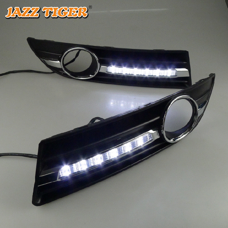 JAZZ TIGER 2kom Super automobilska svjetlost DRL lampica 12V dnevno - Svjetla automobila - Foto 3