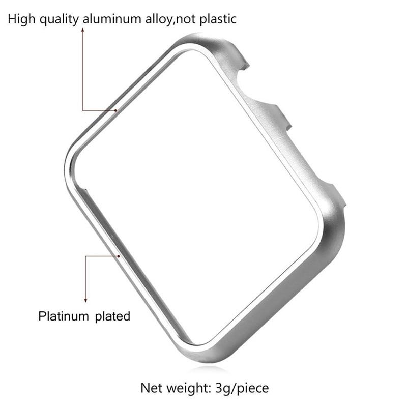 Klockor Bandtillbehör Fodral aluminium för Apple iWatch 38mm 42mm - Tillbehör klockor - Foto 3