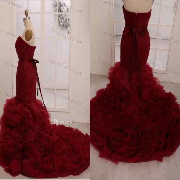 Bekend Rode trouwjurk te koop – Populaire jurken uit de hele wereld BS24