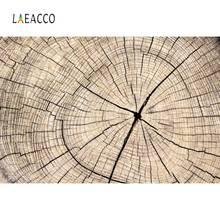 Laeacco Photography Backdrops Wood Annual Ring Pieces Pattern Pet Doll Portrait Photographic Backgrounds Photocall Photo Studio