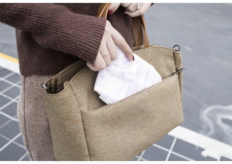 Новая сумка для мам, сумка для подгузников, сумки для детских путешествий, многофункциональная сумка для мам, модная сумка для подгузников, сумка-Органайзер для коляски с крюком