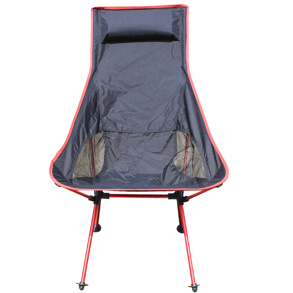 Outdoor Lengthen Portable Lightweight Folding Camping Stool Chair Seat for Fishing Festival Picnic BBQ Beach With Bag New Design 2018 beach with bag portable folding chairs outdoor picnic bbq fishing camping chair seat oxford cloth lightweight seat for
