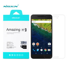 Huawei nexus 6 p nillkin increíble h + pro anti-explosión de vidrio templado protector de pantalla para google nexus 6 p