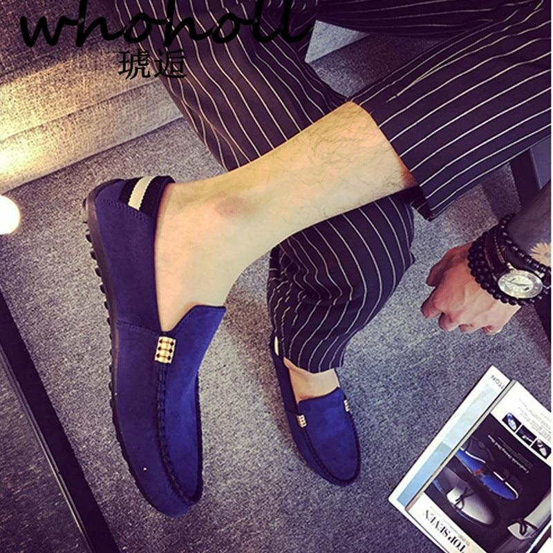 2018 Mann Schuhe Walking Belüftung Casual Männlichen Männer Sapato Masculino Roten Unteren Leinwand Slip Fahren Mokassin Loafers Flache Schuhe