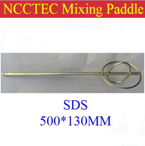SDS paint mixer mixing paddle shaft for bosch drill machine FREE shipping | diameter 5.2'' 130mm, length 20'' 500mm free shipping tool holding fixture or sds drill chuck for bosch gbh36vf gbh2 26dfr gbh2 26 gbh4 32dfr gbh3 28 high quality