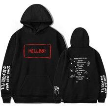 584d0d62a87ff LUCKYFRIDAYF Lil Peep HEllBOY Hoodies Women Men Fashion Hooded Sweatshirts  2019 New Fans Harajuku Hip